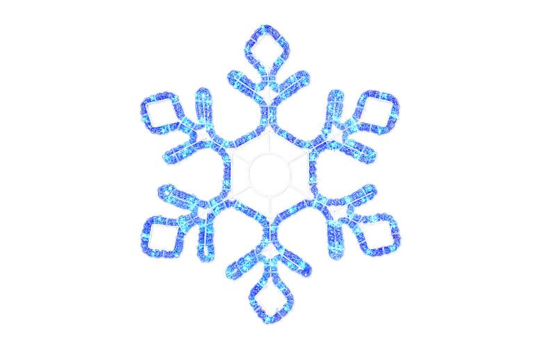 Снежинка светодиодная своими руками